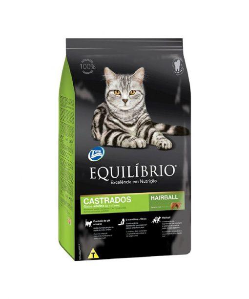 Equilíbrio Concentrado Gatos Castrados. 1.5 Kg