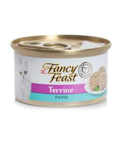 Fancy Feast Gatos Terrine Pavo